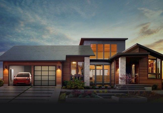 Conhece as telhas solares da Tesla, mais baratas que os telhados comuns