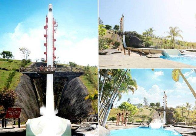 Sabia que o maior toboágua do mundo fica no Rio de Janeiro?