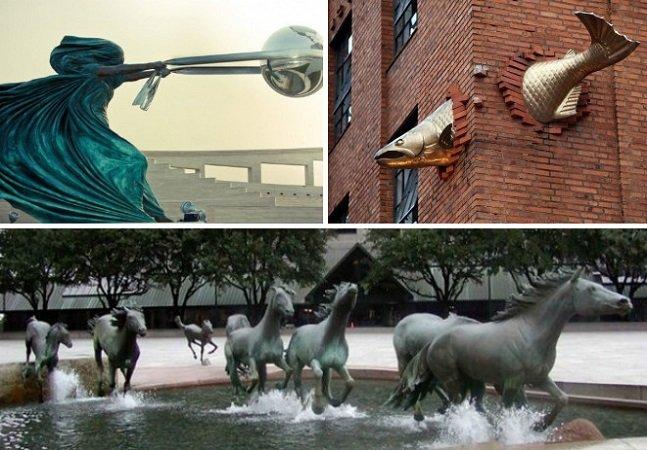 12 esculturas modernas totalmente apaixonantes