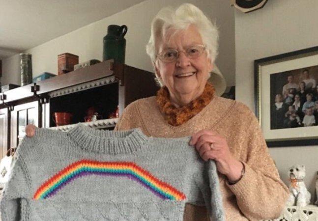 A maravilhosa reação dessa avó após sua neta lhe contar que é bissexual