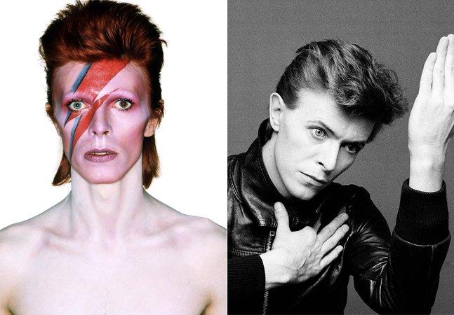 Este site mostra o que David Bowie estava fazendo com a sua idade