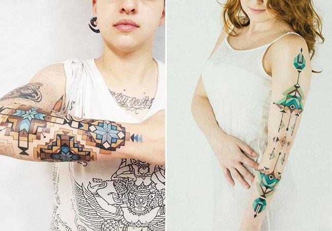 Conheça o brasileiro Brian Gomes, que se inspira na arte tribal da Amazônia para criar tatuagens incríveis