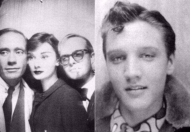 Antes das selfies: 10 autorretratos curiosos de celebridades feitos em cabines fotográficas