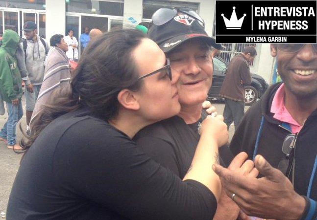 Depois de anos sem ver o pai, ela o encontrou ao ser voluntária em uma ação na Cracolândia