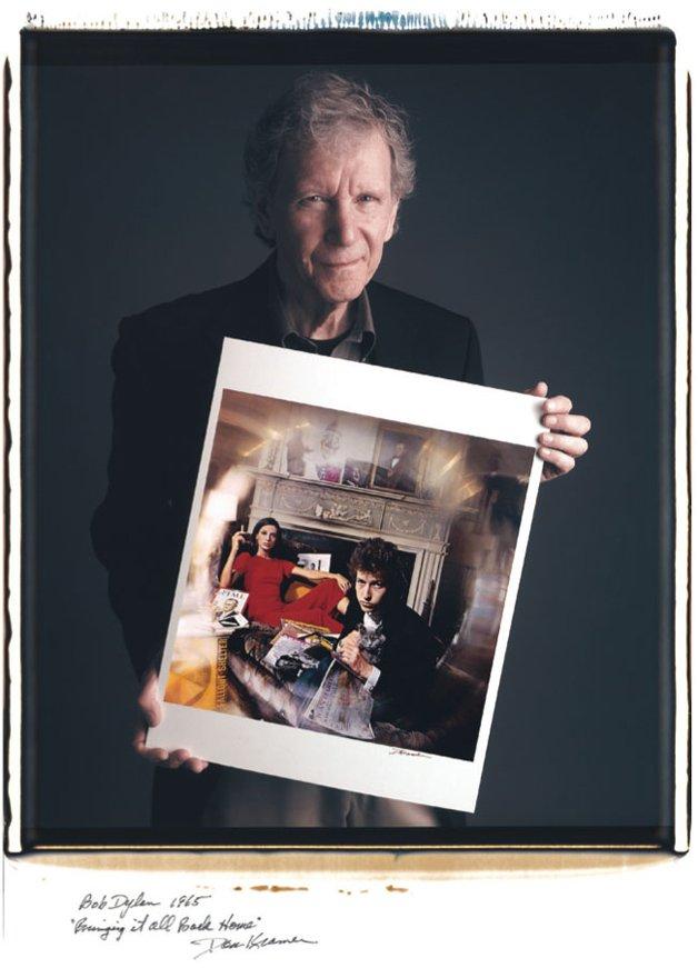 Daniel Kramer - Bob Dylan (capa do disco 'Bringing it all back home')