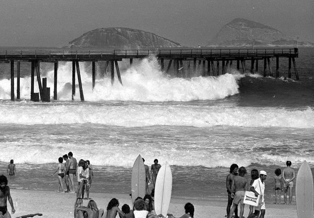 A história do Pier de Ipanema, ícone da contracultura e do surf no Rio dos anos 1970