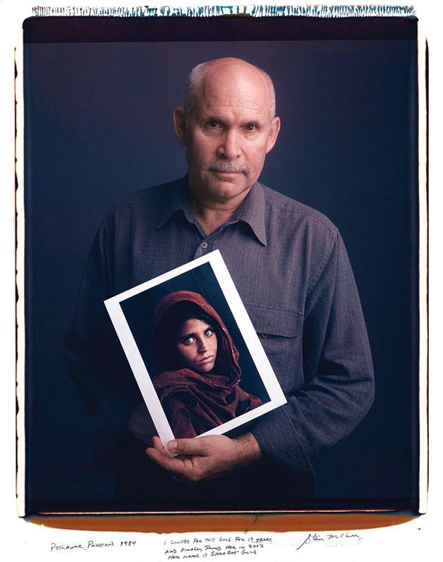 Steve McCurry - Menina Afegã