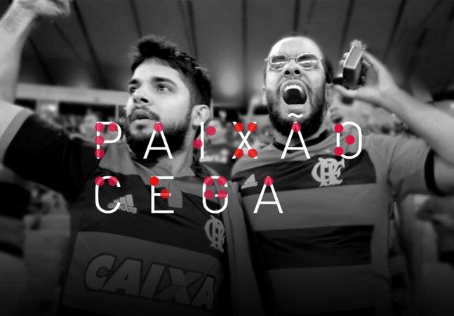 Flamengo cria plataforma para conectar torcedores cegos a outros que topem acompanhá-los