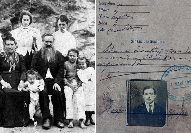 Este site permite encontrar fotos e documentos de antepassados imigrantes