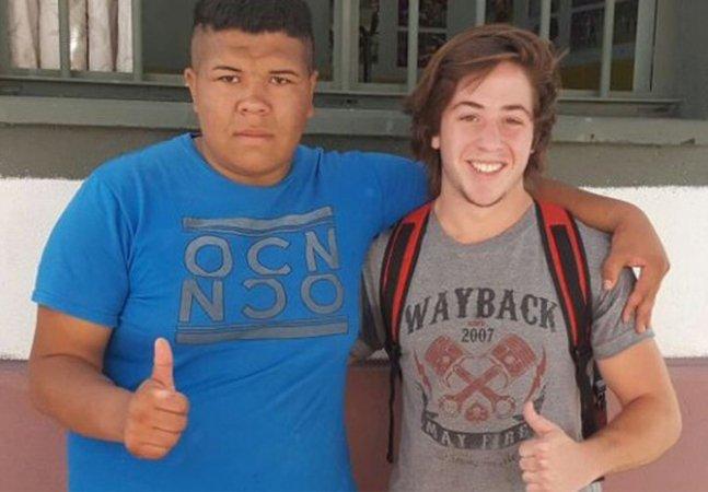 Ele foi à procura do jovem que assaltou sua casa para lhe dar uma segunda chance num time de rugby