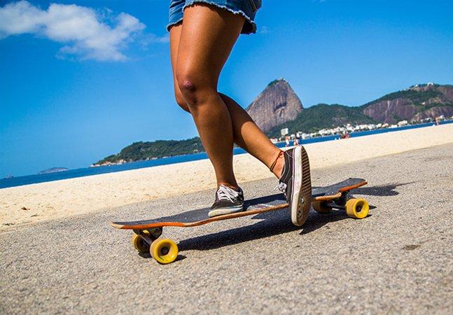 6 ladeiras no Rio para dar uma volta de longboard