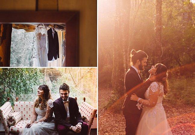 O autoensaio desse casal brasileiro na sua lua de mel é pura inspiração