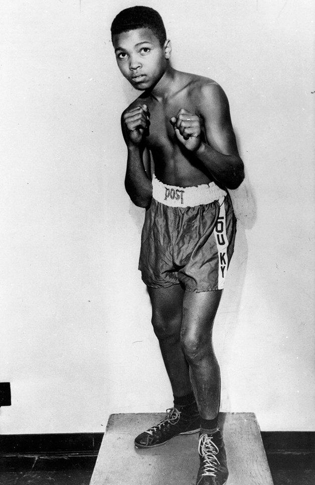 O jovem Ali
