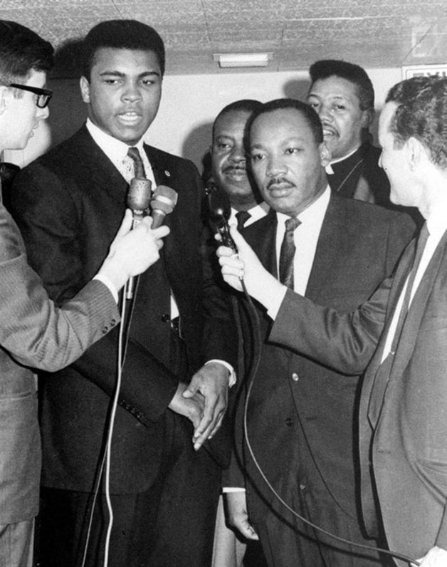 Ali e Martin Luther King Jr.