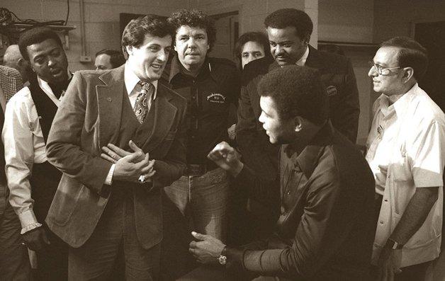Muhammad Ali e Stallone