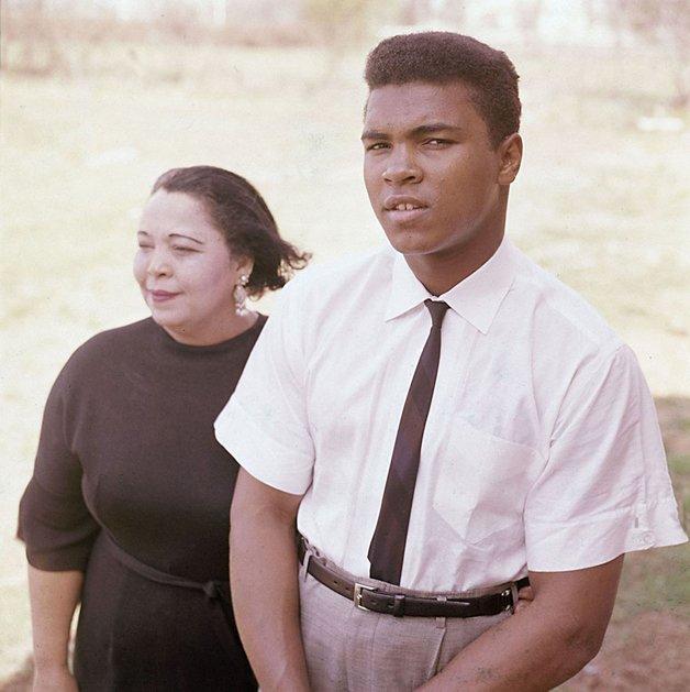 Ali e sua mãe