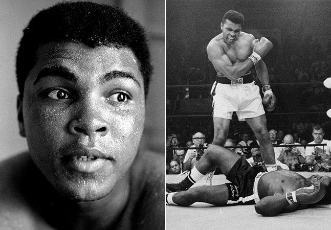 Série de fotos celebra o dia em que Muhammad Ali faria 75 anos