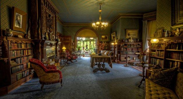 A biblioteca do autor
