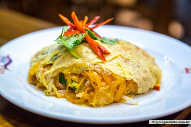 Pad Thai, prato típico tailandês