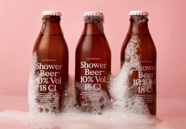 Suecos criam uma cerveja feita especialmente para ser bebida no chuveiro