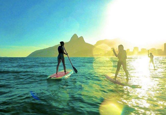 Fique por dentro dos points para a prática do stand up paddle no Rio