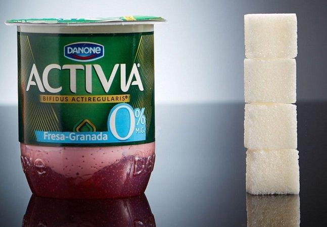 Projeto mostra quanto de açúcar 'escondido' há em cada alimento