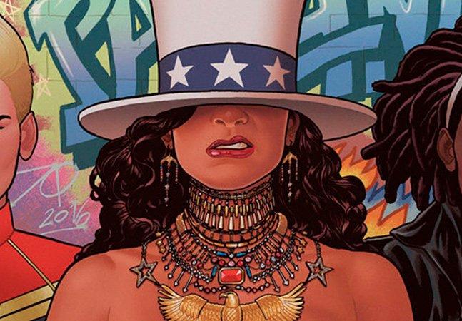Novo quadrinho lacrador da Marvel representa Beyoncé como heroína adolescente, latina e lésbica