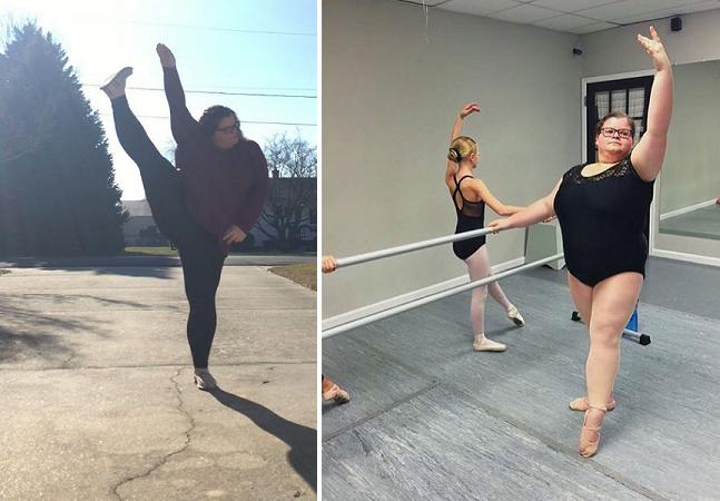 Conheça a bailarina de 15 anos que está desafiando os padrões