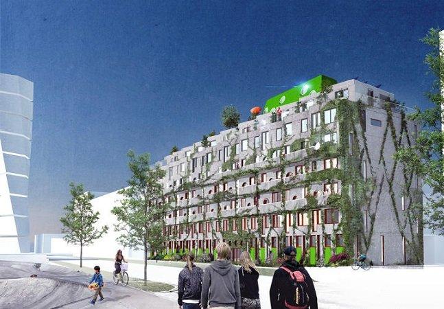 Muito além da ciclovia: estes apartamentos foram inteiros pensados para a vida sem carro
