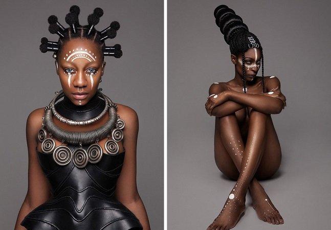 Esta coleção de cabelos afro é o melhor tributo à cultura africana