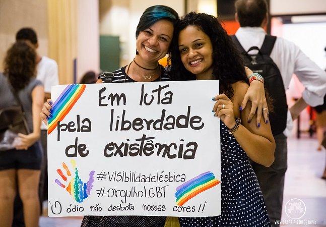 Amar e resistir: manifestação LGBT ocupa CCBB carioca em repúdio a episódio de lesbofobia