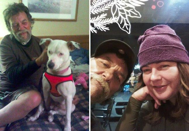 O emocionante último pedido deste morador de rua com um câncer terminal