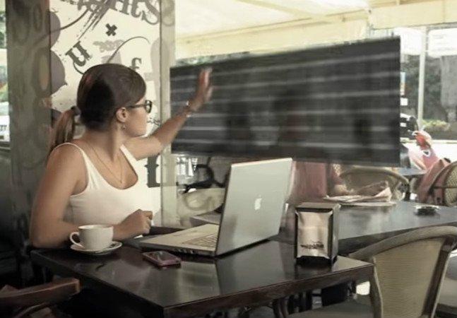 Startup cria tecnologia que permite escurecer vidros com apenas um toque