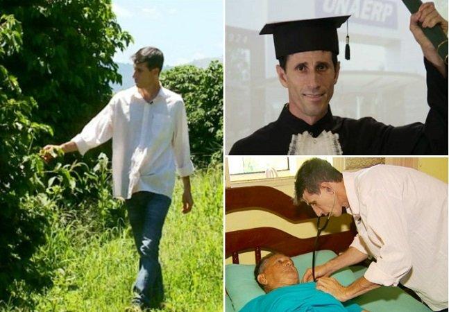 O lavrador que largou a roça para virar médico 19 anos depois em MG
