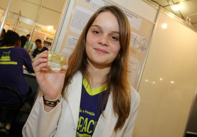 Estudante do ensino médio cria pomada cicatrizante e vira promessa da ciência brasileira