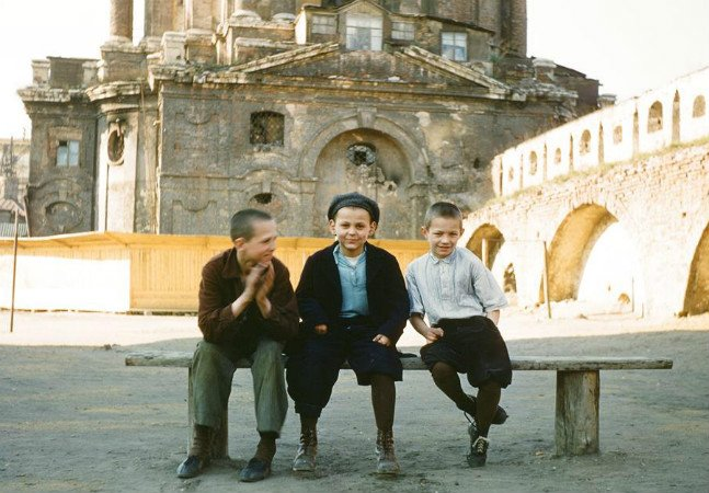 Fotos inéditas mostram a vida na União Soviética durante a década de 1950