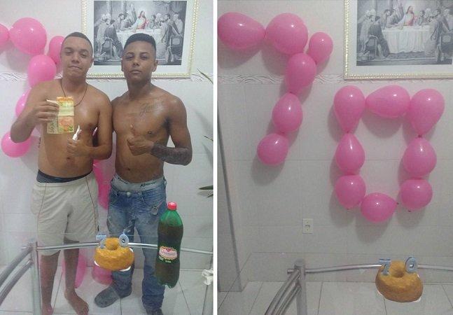 Ao fim de um ano, ele finalmente pagou sua dívida de R$ 70; e a festa foi maravilhosa