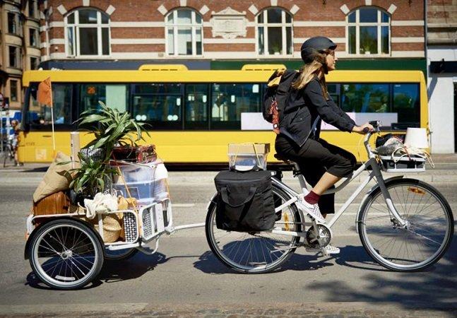 IKEA lança bike urbana com atrelado que te permite transportar quase tudo