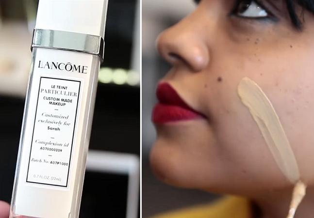 Revolução: marca lança base que é feita na hora e à medida de seu tom de pele