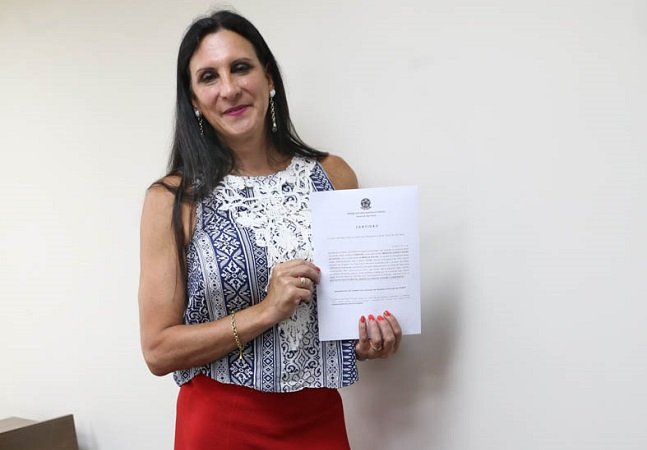 Márcia Rocha é a primeira advogada transexual do Brasil atuando com nome social