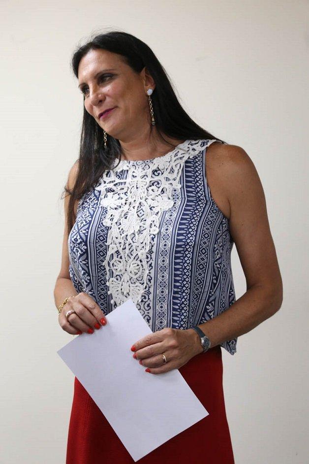 Advogada Márcia Rocha, primeira advogada a receber a   certidão com nome social,  pleito antigo da OAB SP.  Evento realizado na sede da entidade. Data: 09/01/2017 - Local: São Paulo/SP - Foto: José Luis da Conceição/OABSP