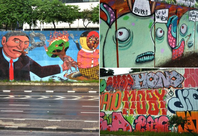 Caminhada no domingo faz apelo para João Dória manter graffitis da Av. 23 de Maio
