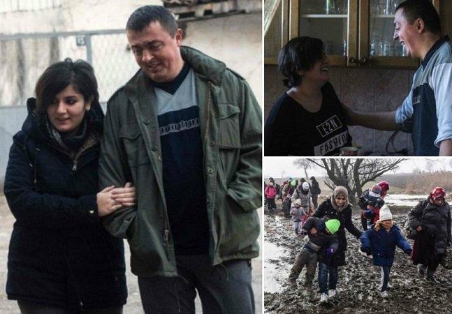 O amor existe: a maravilhosa história entre uma refugiada e um policial da fronteira