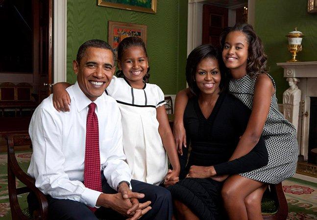 Série de fotos faz uma retrospectiva pela vida das duas filhas dos Obama na Casa Branca