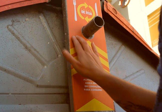 Projeto ajuda a doar sobras de comida que poderiam acabar no lixo