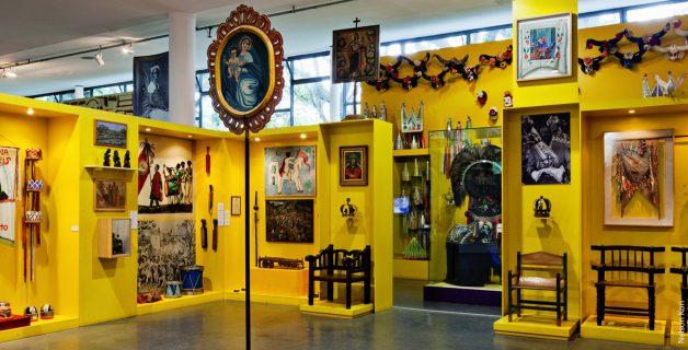 Exposição no Museu Afro Brasil, um dos participantes do projeto. (Foto: Divulgação)