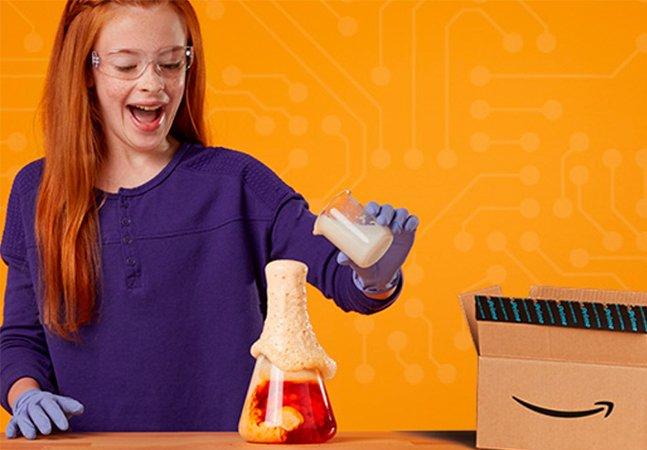 Amazon lança serviço que envia brinquedos científicos e tecnológicos para seus filhos por 20 dólares