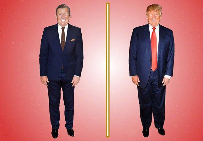 Vídeo que sugere mudanças no visual de Trump e lamenta não poder mudar suas ideias lança debate na web