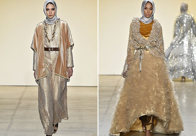 Em desfile da Semana de Moda de NY, estilista muçulmana coloca apenas modelos imigrantes na passarela