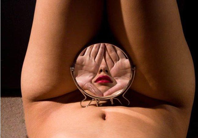 Surrealismo, espelhos e nudez são as marcas registradas do trabalho de Alva Bernardine
